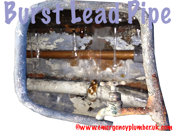 Emergency Burst Lead Pipe