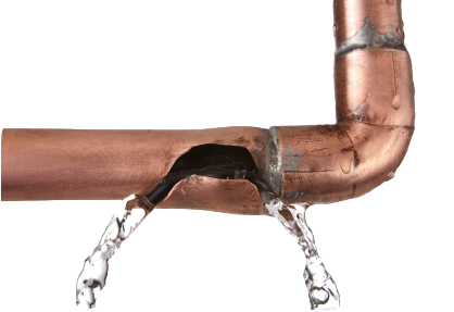 Burst pipes common causes prevention action for House water pipes types