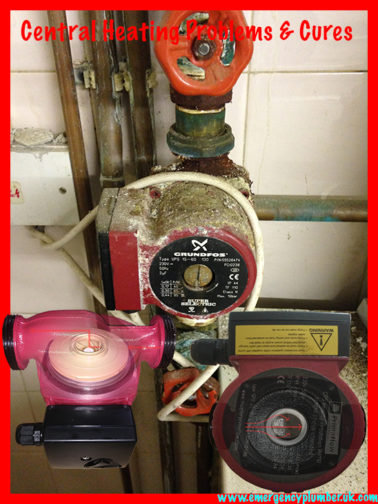 Central Heating Pump Problems & Cures + Circulation Information