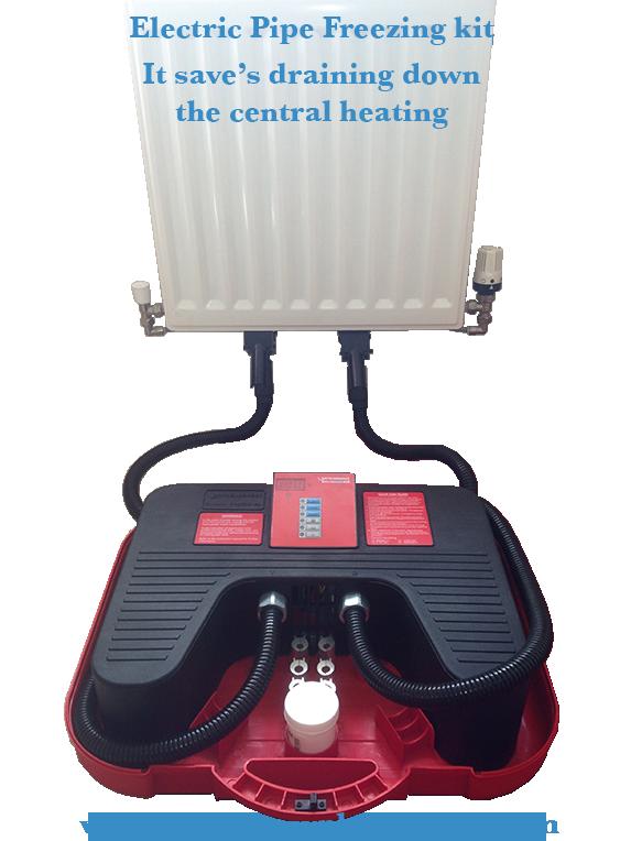 electric pipe freezing machine rothenberger plumbfreeze eco. Black Bedroom Furniture Sets. Home Design Ideas