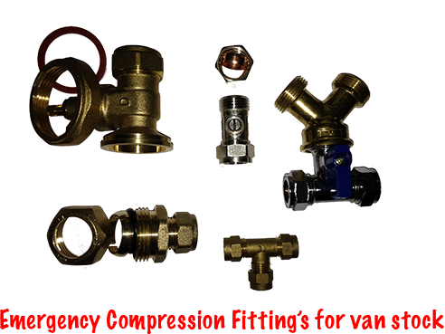 Emergency Compression Fittings