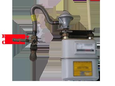 Gas Emergency Control Valve