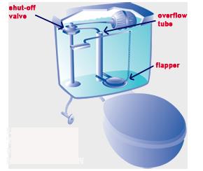 Image Result For Toilet Tank Leak