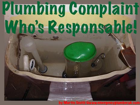 Plumbing Complaint