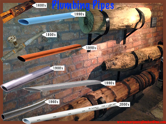 Plumbing pipes include history within the last 500 years for What pipes to use for plumbing