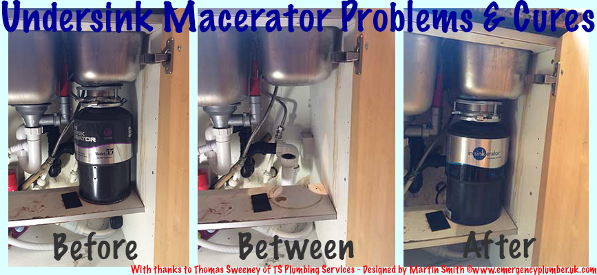 Under Sink Food Macerator Problems