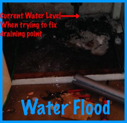 Water Flooding Cupboard