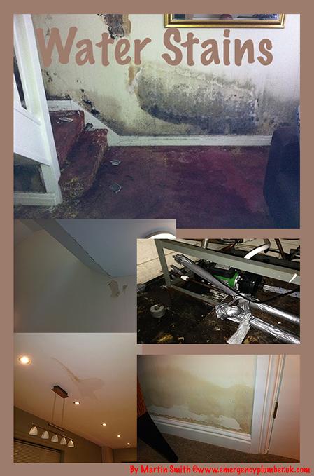 Bathroom Floor Leaking Water