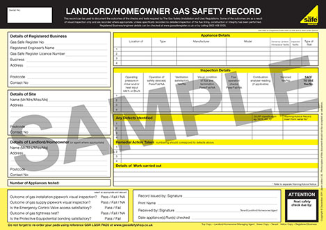 What Does A Gas Certificate Look Like
